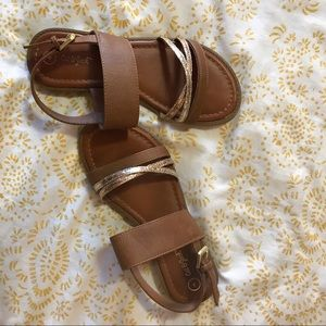Shoes - Brown sandals!